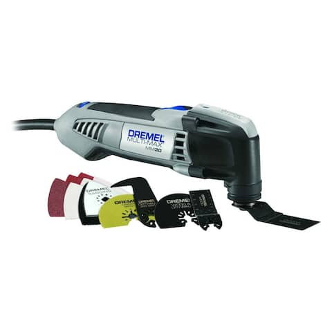 Dremel MM30-04 Multi-Max Oscillating Tool Kit w/ 10 Accessories & Carrying Bag