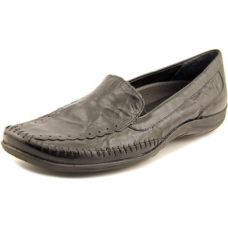 Elites by Walking Cradles Tippy Square Toe Leather Loafer