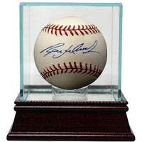 Ryan Ludwick signed Rawlings Official Major League Baseball w Glass Case MLB Hologram CardinalsReds