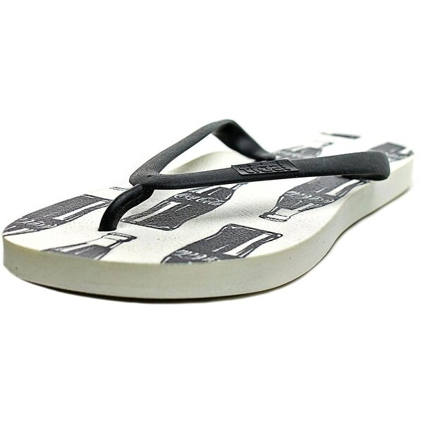 Tidal Contour Open Toe Synthetic Flip Flop Sandal
