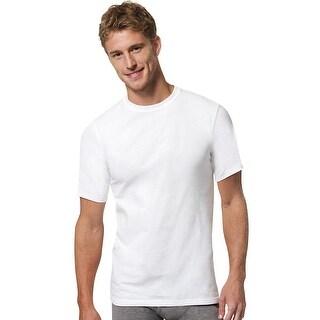 Hanes Men's X-Temp Crewneck White Undershirt 3-Pack
