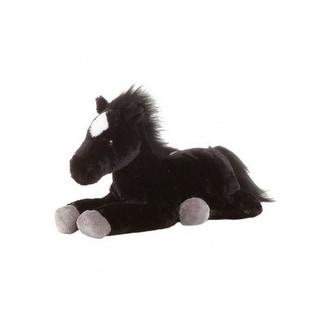 Gift Corral Western Toy Kids Plush Stuffed Animal Horse Black 87-6060