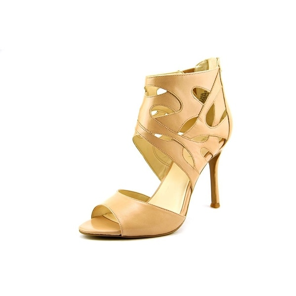 Nine West Fabeyana Open Toe Leather Sandals