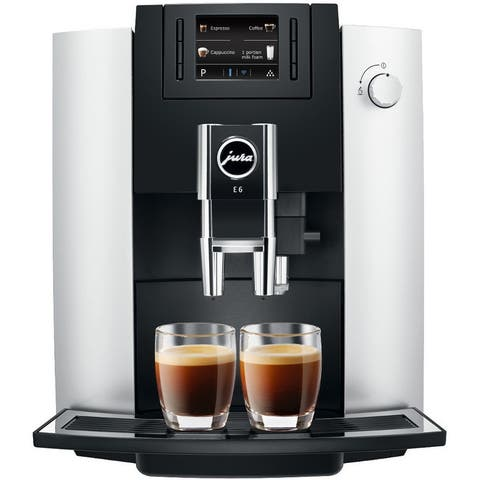 Jura E6 Automatic Coffee Center 15070 (Platinum)
