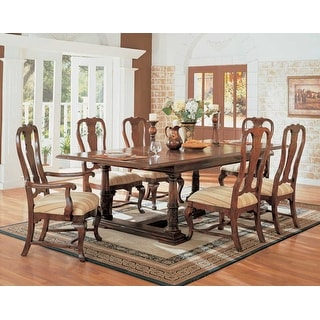 Monte Bianca Rectangle Dining Table with 6 Chairs
