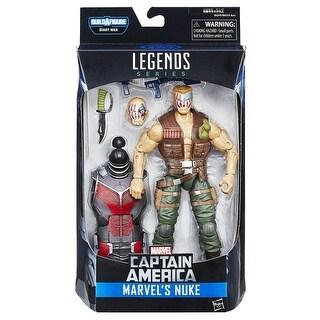 "Marvel Legends Captain America 6"" Action Figure Series: Nuke"