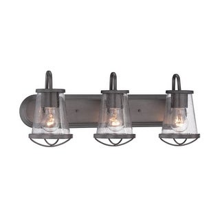 Designers Fountain 87003 Darby 3 Light Bathroom Vanity Light