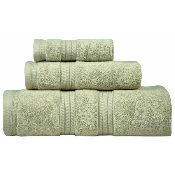 Waterford Towel Set Of 3 Premium Cotton Luxury Sets 1 Bath Towel 27 X54 1 Hand Towel 16 X28 1 Washcloth 13 X13 On Sale Overstock 31294913