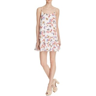 Cotton Candy Womens Casual Dress Cross-Back Floral Print (3 options available)