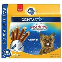 Marspc 798438 1.68 lbs Pedigree Dentastix Mini - Dog Food - Pack of 4