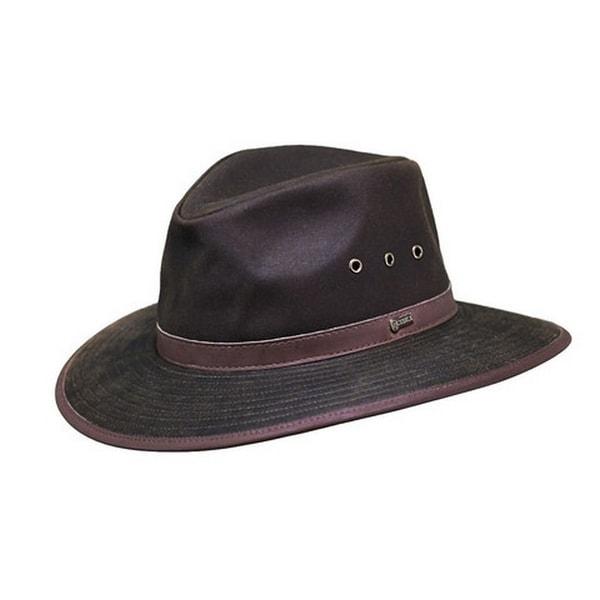 Shop Outback Trading Hat Mens Deer Hunter Oilskin Waterproof Bronze - Free  Shipping Today - Overstock - 15418914 f5fe4dbde40
