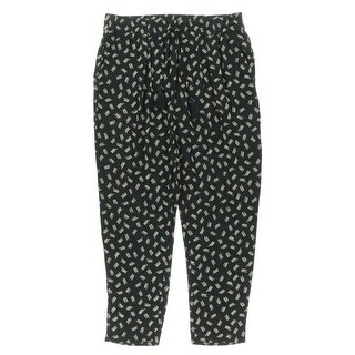 Lucky Brand Womens Pattern Pleated Harem Pants - M