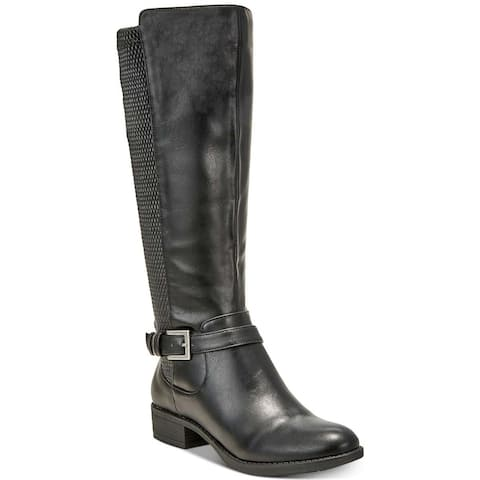 Style & Co. Womens Luciaa Closed Toe Over Knee Fashion Boots