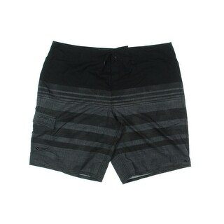 O'Neill Mens Calypso Striped Drawstring Board Shorts - 40