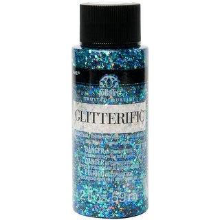 Cinnamon - Folkart Glitterific Glitter Paint 2Oz