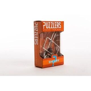 Sheriff Metal Puzzle