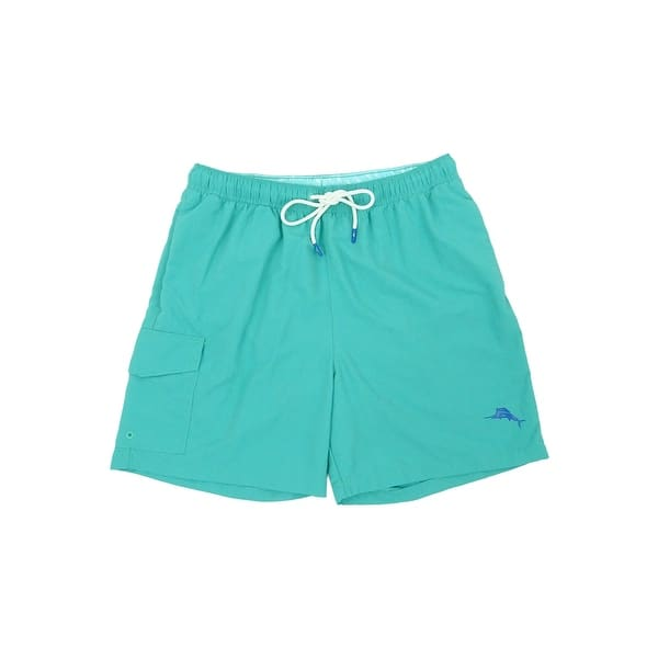 8d9dcd480b Shop Tommy Bahama Men's Naples Coast Solid Swim Trunks - Free ...