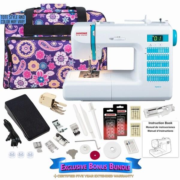 Janome DC2013 Computerized Sewing Machine W/ Bonus Bundle