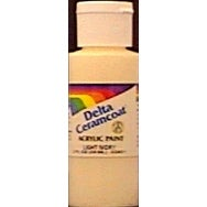 Bright Yellow - Transparent - Ceramcoat Acrylic Paint 2Oz