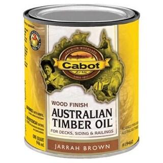 Cabot Samuel 19460-05 Australian Timber Oil, QT, Jarrah
