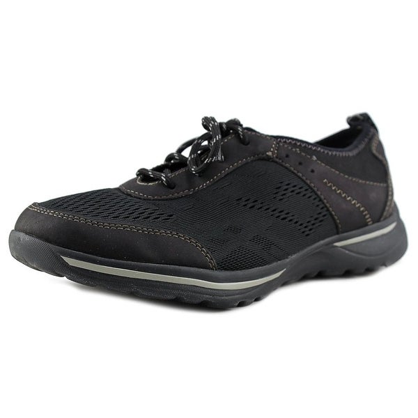 Earth Origins Cruise Women Round Toe Synthetic Black Tennis Shoe