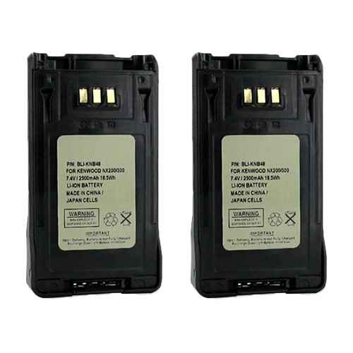 Battery for Kenwood BLIKNB48 (2-Pack) Replacement Battery