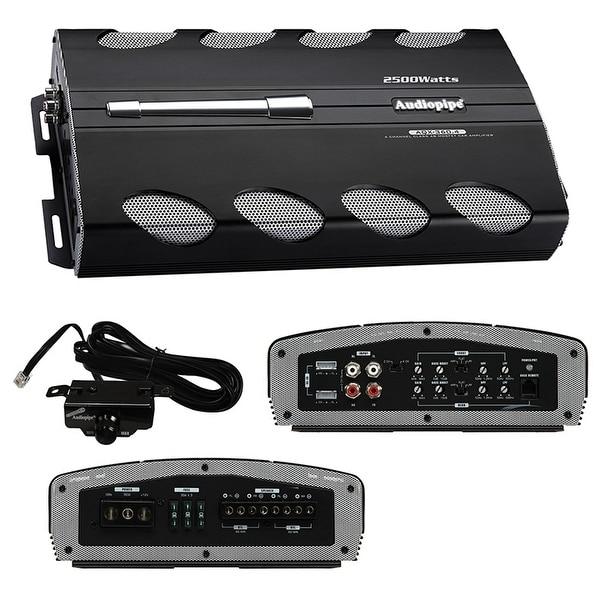 Amplifier Audiopipe 2500W 4ch Remote bass boost
