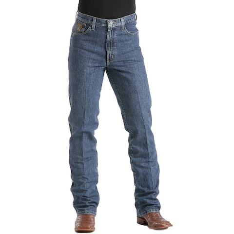 Cinch Western Denim Jeans Mens Bronze Label Slim Med Rise