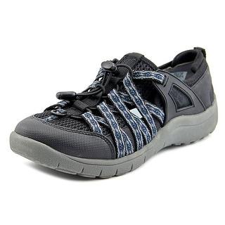 Baretraps Polla Women Round Toe Canvas Black Sneakers