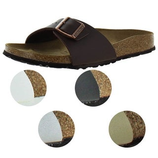 Link to Birkenstock Women's Madrid Birko-Flor EVA Slide Sandals Similar Items in Women's Shoes