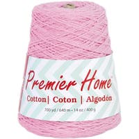 Home Cotton Yarn - Solid Cone-Pastel Pink