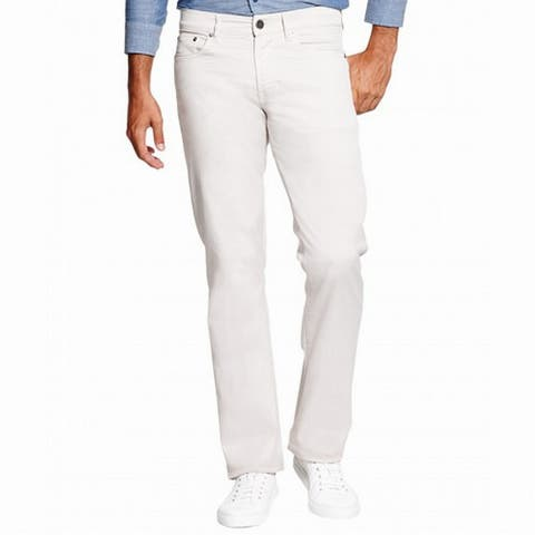 DL1961 Mens Pants Beige Size 38x34 Straight Leg Five Pocket Stretch