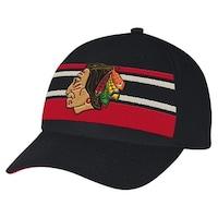Shop Chicago Blackhawks CCM Reebok NHL Vintage Premier Black Jersey ... e7f4a3280