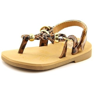 Sarah Jayne Sonora Infant Open Toe Synthetic Thong Sandal