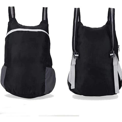 Lightweight Nylon Foldable Backpack Durable Water Resistant