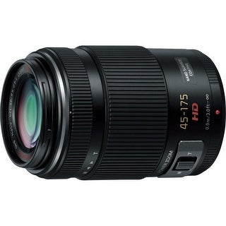 Panasonic Lumix G X Vario Power Zoom 45-175mm f/4.0-5.6 ASPH Lens (Black) - black