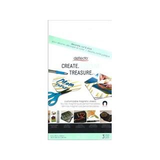 Deflecto Craft Magnetic Sheets 8x15 3pc