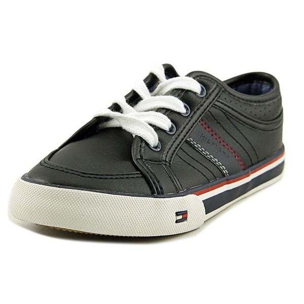 8edec8ac2 Tommy Hilfiger DENNIS RETRO LACE Youth Round Toe Synthetic Blue Tennis Shoe