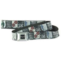 Attack on Titan Multiple Symbols Seatbelt Belt-Holds Pants Up