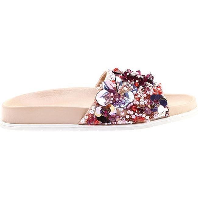 Kenneth Cole New York Womens Xenia Embellished Pool Slide Sandal Slide Sandal