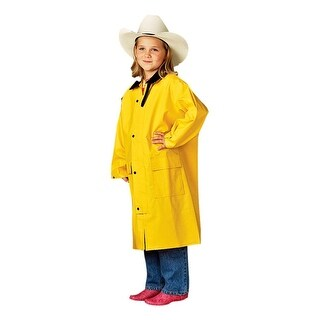 M&F Western Jacket Boy Girl Saddle Slicker Weatherproof Yellow