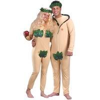 Adam & Eve Couples Halloween Costume - standard - one size