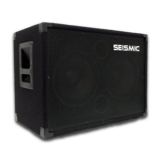 SEISMIC AUDIO 210 Bass Guitar Speaker Cabinet 4Ohm 2x10