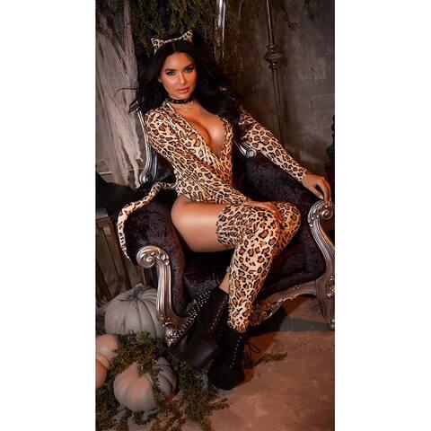 Leopard Cutie Costume - Brown