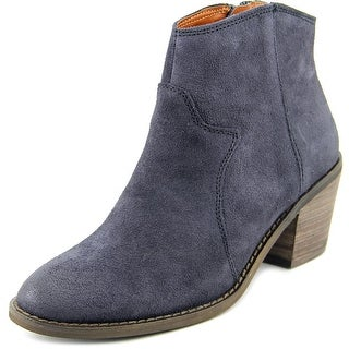 Lucky Brand Marcos Round Toe Leather Bootie