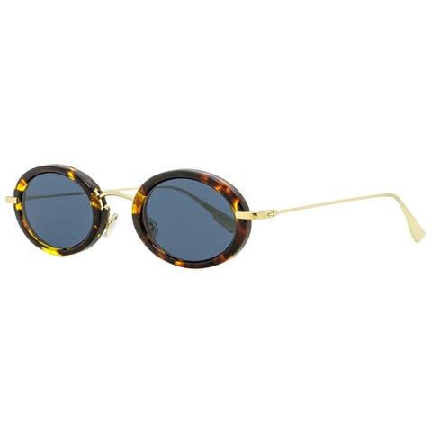 Dior DiorHypnotic2 2IKA9 Womens Gold/Havana 46 mm Sunglasses