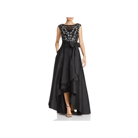 Adrianna Papell Womens Formal Dress Sequined Embroidered