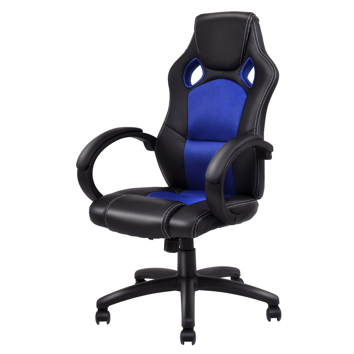 Costway High Back Racing Chair Bucket Seat Office Desk Gaming Chair Swivel Executive New