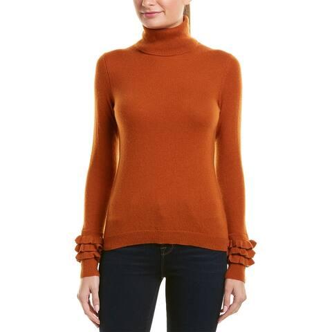 Sofiacashmere Turtleneck Cashmere Sweater