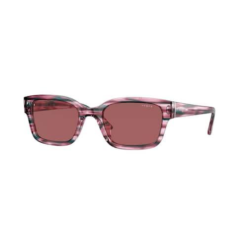 Vogue VO5357S 286869 51 Pink Striped Blue Woman Pillow Sunglasses